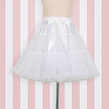 ชุดเต้นบัลเล่ย์ โลลิต้าแบบคลาสสิก 1950s หนึ่งชิ้น ชุดเดรส Petticoat ตูตู กระโปรงผายก้น สำหรับผู้หญิง เด็กผู้หญิง ตูเล่ เครื่องแต่งกาย ขาว Vintage คอสเพลย์ ปาร์ตี้ Performance เจ้าหญิง