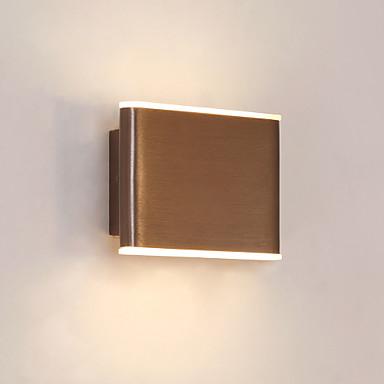 CONTRACTED LED® Mini Style / เท่ห์ ง่าย / สมัยใหม่ร่วมสมัย ห้องนอน / ในที่ร่ม โลหะ โคมไฟติดผนัง IP20 110-120โวลล์ / 220-240โวลต์ 4 W