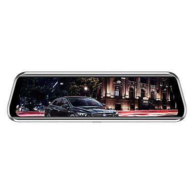 levne Auto Elektronika-Anytek T900+ 1944p Nový design / Dvojitá čočka / Spuštění automatického nahrávání Auto DVR 170 stupňů Široký úhel 2.0MP CMOS 9.7 inch IPS Dash Cam s G-Sensor / Parkovací mód / Smyčkové nahrávání