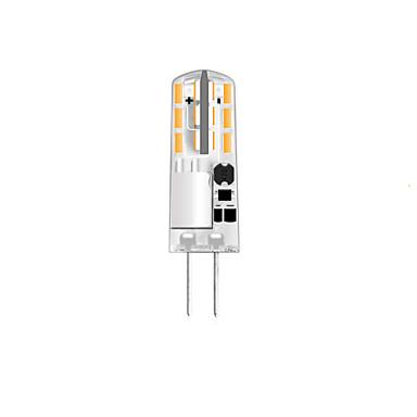 1pc 1 W หลอดเสียบคู่ LED 100 lm G4 T 24 ลูกปัด LED SMD 3014 ขาวนวล ขาวเย็น