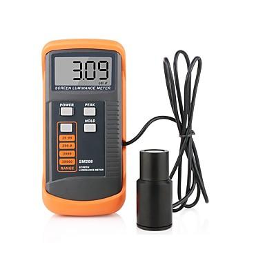 voordelige Test-, meet- & inspectieapparatuur-sm208 schermhelderheidsmeter draagbare luminantiemeter met minilichtdetector 0.01-39990 cd / m
