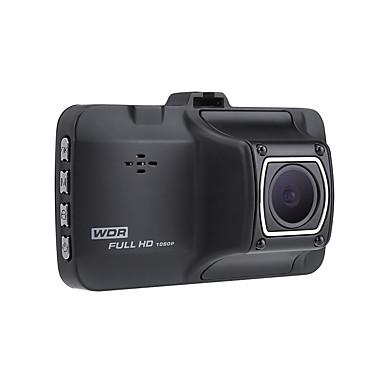 billige Bil-DVR-HD / Nattsyn / Oppstart automatisk opptak Bil DVR 170 grader Bred vinkel 3 tommers LTPS Dash Cam med Night Vision / Bevegelsessensor / auto av / på Bilopptaker