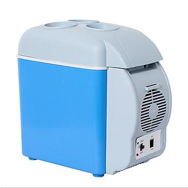 levne Auto Elektronika-jtron 7,5l přenosné ohřívání a chlazení auta roztomilé krabice / malá lednice pro auto