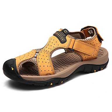 men's leather shoes nappa leather summer sporty / casual