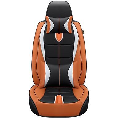 Car Seat Covers ชุดเบาะรองศีรษะและเอว สีดำ / ส้ม / แดง ฟองน้ำ / เส้นใยสังเคราะห์ / นอนวูฟเวน ธุรกิจ สำหรับ จีเอ็ม / Universal