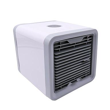 preiswerte Hausbedarf-usb mini tragbare klimaanlage luftbefeuchter luftreiniger 7 farben licht desktop luftkühler lüfter luftkühler fan für büro zu hause