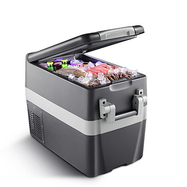 preiswerte Neu eingetroffen Bis zu 30 % REDUZIERT-litbest auto kühlschrank 30 l geräuscharm dual cool tragbarer touchscreen steuerkühlschrank für auto und häuser 12/24/220 v