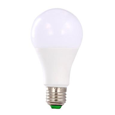 1pc 9 W หลอด LED กลม 510-610 lm E26 / E27 11 ลูกปัด LED ขาวเย็น 175-265 V