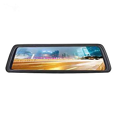 voordelige Automatisch Electronica-4g full screen streaming media auto dvr 140 graden groothoek 10 inch ips dash cam met wifi / gps / nachtzicht auto recorder