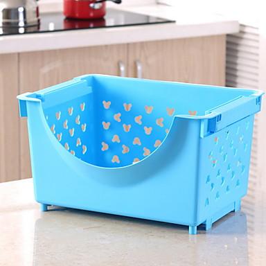 คุณภาพสูง กับ Plastics Hanging Baskets ใช้เป็นประจำ ครัว การเก็บรักษา 1 pcs