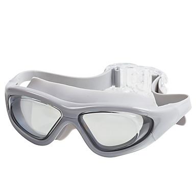 แว่นตาว่ายน้ำ กลางแจ้ง การว่ายน้ำ PC โพลีคาร์บอเนต โปร่งแสง