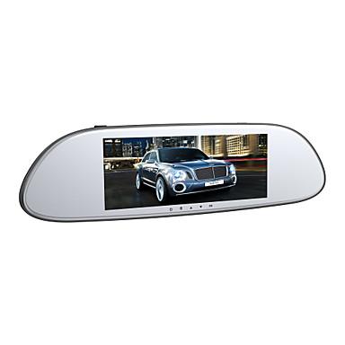levne Auto Elektronika-Anytek T80 1944p Dvojitá čočka / Spuštění automatického nahrávání Auto DVR 170 stupňů Široký úhel 1/4 palcový barevný CMOS s vysokým rozlišením 7 inch Dash Cam s G-Sensor / Smyčkové nahrávání / ADAS