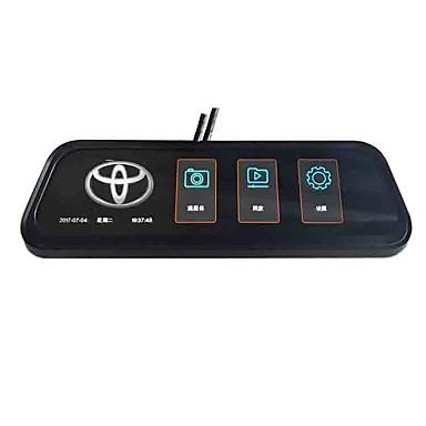 billige Bil Elektronikk-1080p streaming media bakspeil bil dvr 170 graders vidvinkel 10 tommers ips dash cam bilopptaker for toyota