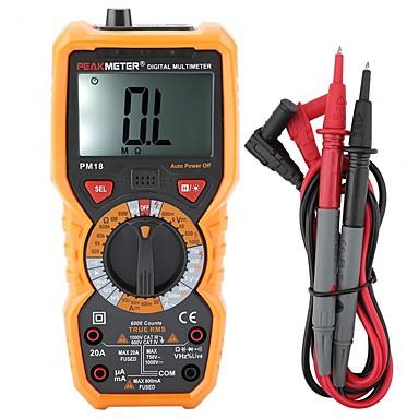 billige Test-, måle- og inspeksjonsverktøy-toppmåler bærbar digital multimeter pm18 digital multimeter strøm spenning motstand tester elektriker måleinstrument