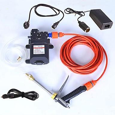 povoljno Oprema za čišćenje i uređivanje-auto pranje prijenosni električni 220v skrenuti 12v adapter model dvostruka pumpa visokog tlaka vode pištolj