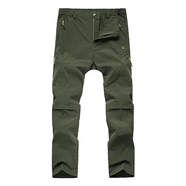 สำหรับผู้หญิง Hiking Pants Convertible Pants กลางแจ้ง ระบายอากาศ แห้งเร็ว ซึ่งยืดหยุ่น ความต้านทานการสึกหรอ ฤดูใบไม้ร่วง ฤดูใบไม้ผลิ ฤดูร้อน กางเกง