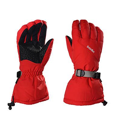 ถุงมือสกี สำหรับผู้ชาย สำหรับผู้หญิง กีฬาหิมะ เต็มนิ้วมือ ฤดูหนาว กันน้ำ ระบายอากาศ รักษาให้อุ่น ซิลิโคน กีฬาหิมะ กีฬาฤดูหนาว