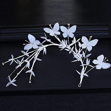 ตูเล่ เครื่องประดับศรีษะ กับ ดอกไม้ 1 ชิ้น งานแต่งงาน / วันเกิด หูฟัง