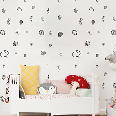 สติ๊กเกอร์ประดับผนัง - Plane Wall Stickers สัตว์ต่างๆ / ชุดรัดรูป สถานรับเลี้ยงเด็ก / ห้องสำหรับเด็ก
