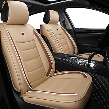 levne Doplňky do interiéru-obchodní přední zadní univerzální autosedačky kryty polštářky luxusní luxusní vozidla příslušenství pro univerzální / polyester / koženka / bavlna