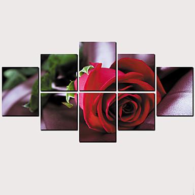 Print พิมพ์ผ้าใบรีด - ภูมิประเทศ ลวดลายดอกไม้ / เกี่ยวกับพฤษศาสตร์ คลาสสิก ที่ทันสมัย ศิลปะภาพพิมพ์
