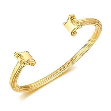 levne Pánské šperky-Pánské Široké náramky Klasika Radost stylové Titanová ocel Náramek šperky Zlatá Pro Dar Denní