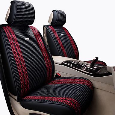 Car Seat Cushions หมอนอิงที่นั่ง สีดำ / ฟ้า / ผ้าขนสัตว์สีธรรมชาติ ใยสังเคราะห์ ธุรกิจ สำหรับ Universal ทุกปี ทุกรูปแบบ