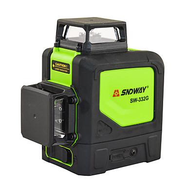 voordelige Waterpasinstrumenten-SNDWAY SW-332G 30m Laserafstandsmeter Waterbestendig / Stofbestendig / Makkelijk Te Gebruiken voor meubilering / voor slimme thuismeting / voor technische metingen