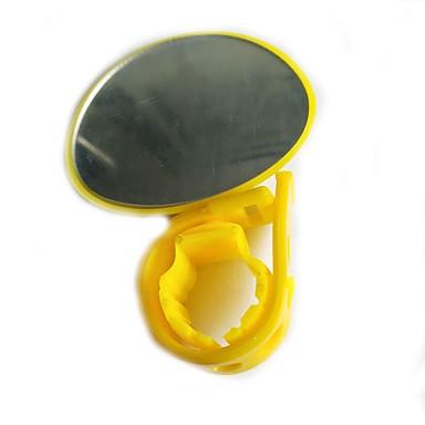 billige Sykkeltilbehør-Bakspeil Bar End Bike Mirror justerbar Fleksibel Støtsikker Vid baksynsvinkel Sykling motorsykkel Sykkel Plastikker Harpiks Svart Svart / Gul Fuksia Vei Sykkel Fjellsykkel