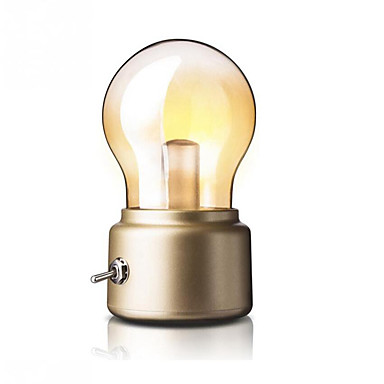 1pc คืนแสงไฟ LED ขาวนวล USB Creative / พกพาง่าย / มีพอร์ต USB 5 V