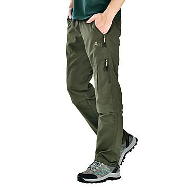 สำหรับผู้ชาย Hiking Pants Convertible Pants กลางแจ้ง ระบายอากาศ แห้งเร็ว ซึ่งยืดหยุ่น ความต้านทานการสึกหรอ ฤดูใบไม้ร่วง ฤดูใบไม้ผลิ ฤดูร้อน กางเกง การตกปลา แคมป์ปิ้ง / การปีนเขา / เที่ยวถ้ำ การเดินทาง