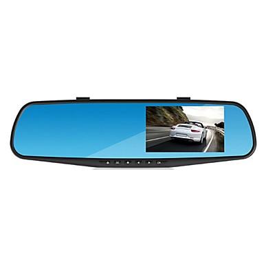 billige Bil-DVR-1080p HD Bil DVR Bred vinkel 4.3 tommers LED Dash Cam med GPS / G-Sensor / Parkeringsmodus Bilopptaker