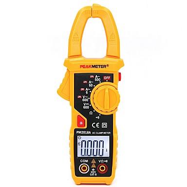 Hhtl-peakmeter pm2018a มือถือดิจิตอลจอแอลซีดี c lamp meter มัลติมิเตอร์ ac / dc แรงดันไฟฟ้า ac ปัจจุบันต้านทานต่อเนื่องที่มี backlig