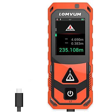 voordelige Waterpasinstrumenten-lomvum nieuwe aankomst bluetooth usb laser afstandmeters digitale laser afstand 200 m meter afstand batterij-aangedreven measurer laser