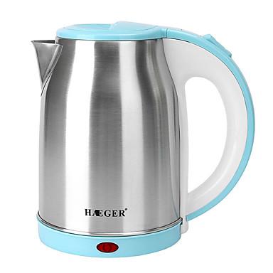preiswerte Küchengeräte-LITBest Wasserkocher 7830 Edelstahl Blau