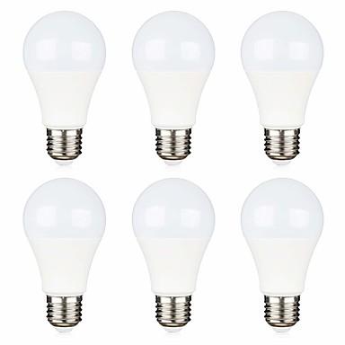 6 ชิ้น 12 โวลต์ไฟ led หลอดไฟแรงดันต่ำ 5 วัตต์ (40 วัตต์เทียบเท่า) e26 / e27 ฐานมาตรฐานเย็นสีขาว 6500 พันอบอุ่นสีขาว 2700 พันหลอดไฟแรงดันต่ำสำหรับปิดตารางพลังงานแสงอาทิตย์แสงแสง rv แสงเรือ