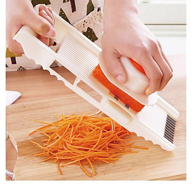 5 in 1 มัลติฟังก์ชั่สแตนเลสผักขูดหั่นพิณเครื่องตัดผักปรับแครอทขูดหัวหอม dicer