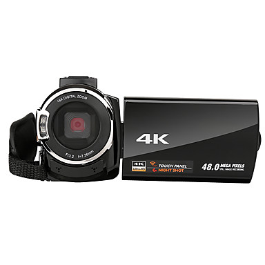 cheap Sports Action Cameras-QQT V13-1 vlogging Quick Charging / Easy to Carry / Multi Function 64 GB 1080P / 60fps 16 mp 8x 1920 x 1080 Pixel 4.1 inch 16.0MP CMOS H.264 Single Shot / Burst Mode / Time-lapse No -4/3