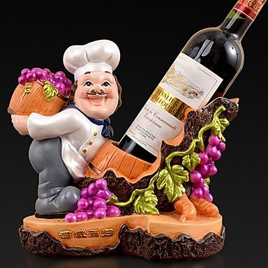 1pc เรซิน ที่วางขวดไวน์ ที่วางขวดไวน์ ไวน์ อุปกรณ์ สำหรับ barware