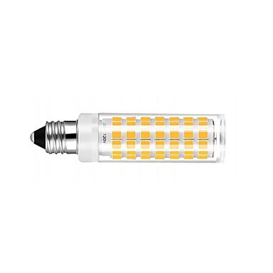 2pcs E11 Led Bulb Dimmable Warm White 3000k Light Bulbs 6w 50w 60w Halogen Lamp Equivalent Mini Candelabra Base Ac110 120v Omni Directional 360 Degree