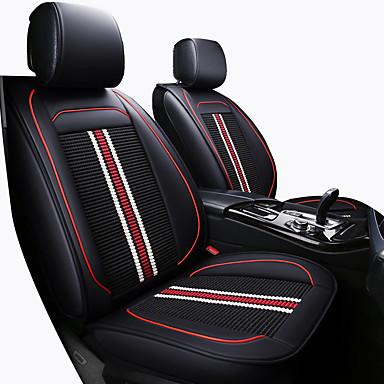 Car Seat Cushions หมอนอิงที่นั่ง ผ้าขนสัตว์สีธรรมชาติ / กาแฟ / ฟ้า หนัง PU / หนังเทียม / ใยสังเคราะห์ ธุรกิจ / ธรรมดา สำหรับ Universal ทุกปี General Motors