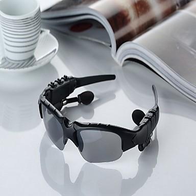 litbest trådlös stereo bluetooth sport glas anti-strålar ingen bländning hi-fi hörlurar för iPhone och andra