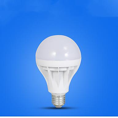 1pc 5 W หลอด LED กลม 410-510 lm E26 / E27 12 ลูกปัด LED ขาวเย็น 220-240 V