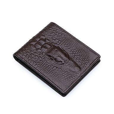 levne Shoes Trends-Unisex Vytlačený vzor Hovězí kůže Peněženky Zvíře Světlá růžová / Žlutá / Kávová / Podzim zima