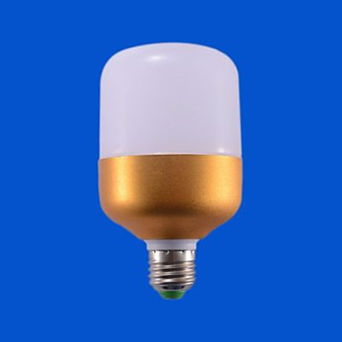 1pc 20 W หลอด LED กลม 1100-1200 lm E26 / E27 18 ลูกปัด LED ขาวเย็น 220-240 V