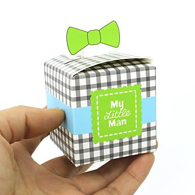 Cubic Pearl Paper Holder โปรดปราน กับ แพทเทิร์นหรือลายพิมพ์ กล่องของขวัญ / ถุงคุ้กกี้ - 50 ชิ้น
