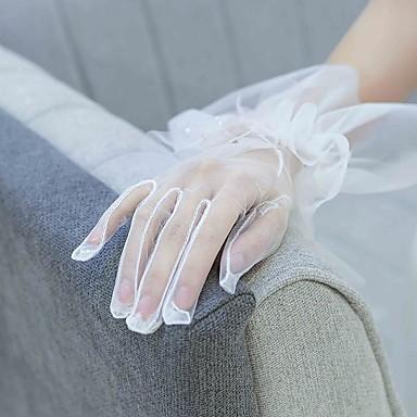 สุทธิ ความยาวข้อมือ ถุงมือ ถุงมือ กับ ขอบ