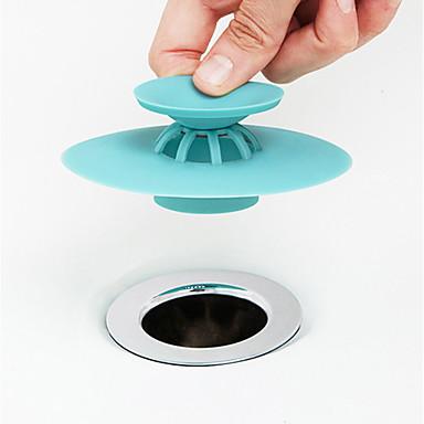 ครัว อุปกรณ์ทำความสะอาด PP ตัวกรองอ่างล้างจาน ป้องกันการรักษาคราบ ทนทาน 1pc