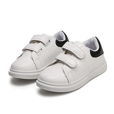 voordelige Babyschoenentjes-Jongens / Meisjes Comfortabel PU Sneakers Peuter (9m-4ys) / Little Kids (4-7ys) Wandelen Zwart / Rood / Groen Lente / Rubber