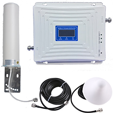 povoljno Zaštita i sigurnost-2g / 3g / 4g mobilni repetitor signala pojačavač signala pojačavač signala 900/1800/2100 dvopojasni gsm / dcs / wcdma pametni telefon mobitel za dom i zgradu
